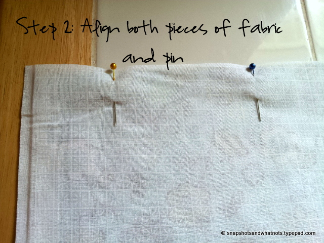 Beginner Sewing Project Pillowcases (7)
