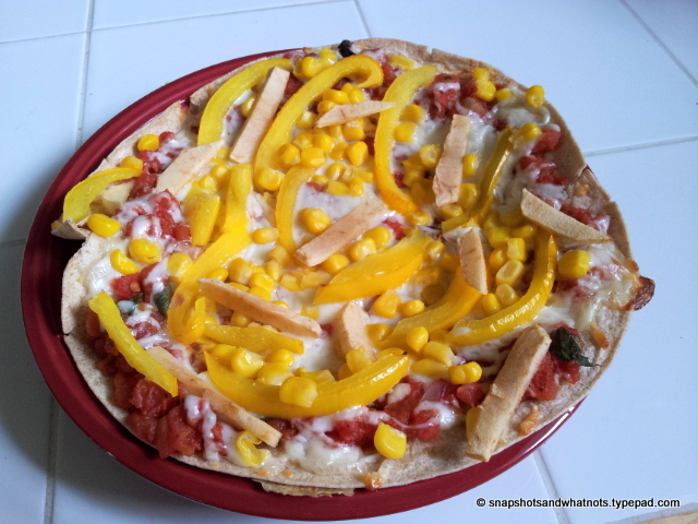 Healthy homemade pizza (5)