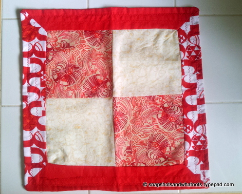 Napkins beginner sewing project (1)