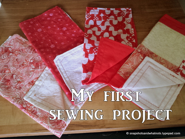 Napkins beginner sewing project (6)