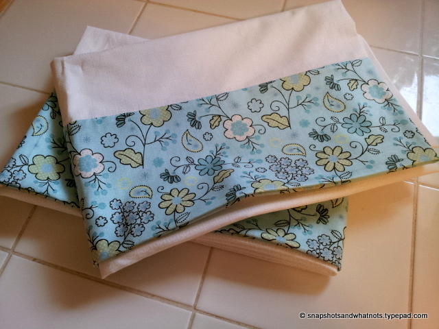 Beginner Sewing Project Pillowcases (4)