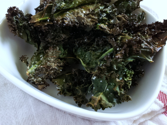 Roasted Kale chips (3)