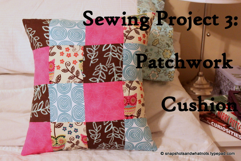 Patchwork cushions (4)