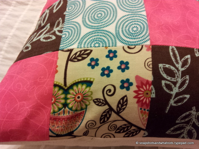 Patchwork cushions (3)
