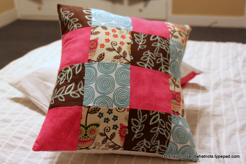 Patchwork cushions (5)