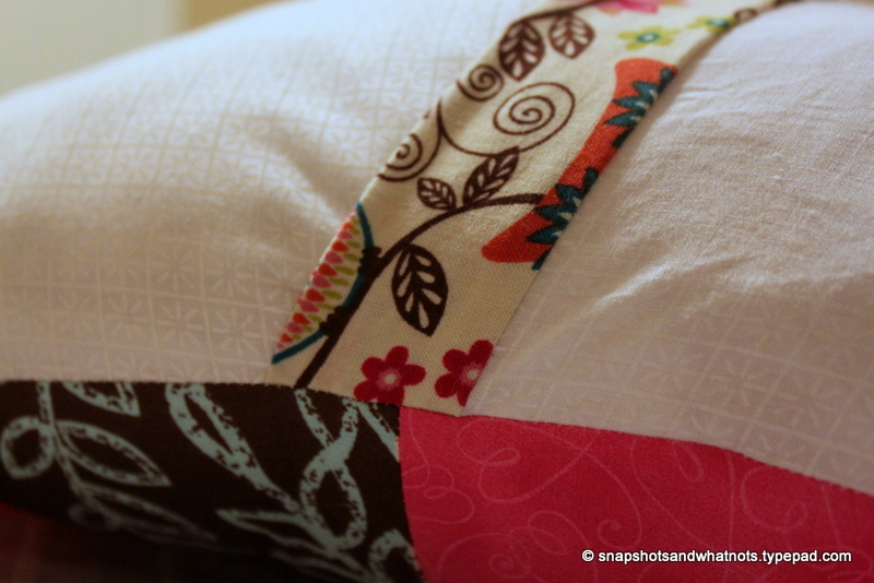 Patchwork cushions (7)