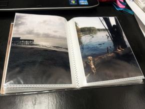 Homemade photo book of Boomer (9)