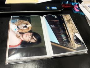 Homemade photo book of Boomer (12)