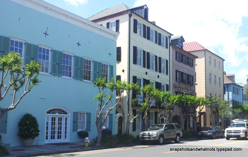 Charleston SC - rainbow row