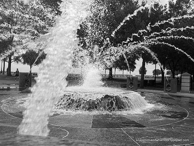 Charleston SC - fountain