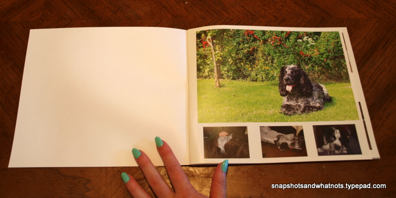 Blurb photo book - page 1&2