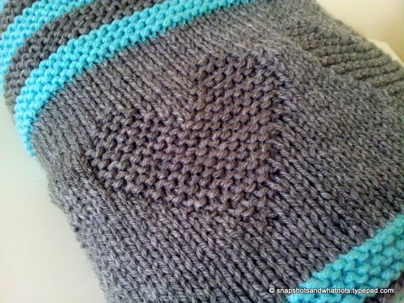 Valentine S Inspired Knitted Baby Blanket Snapshots