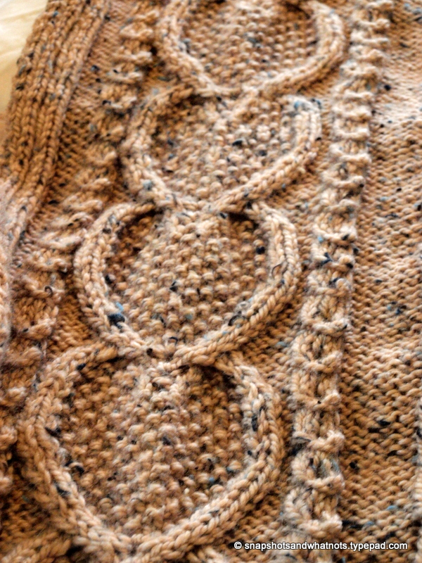 Huge Cable knit blanket -snapshotsandwhatnots (3)
