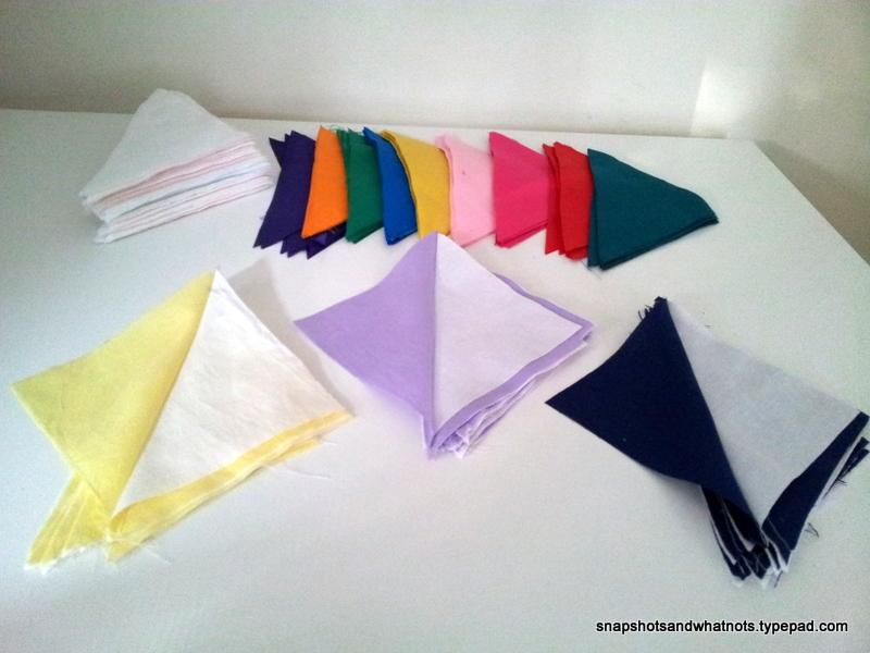Rainbow Quilt - first steps - snapshotsandwhatnots (1)