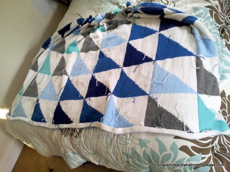 Knitted Patchwork blanket - snapshotsandwhatnots (4)