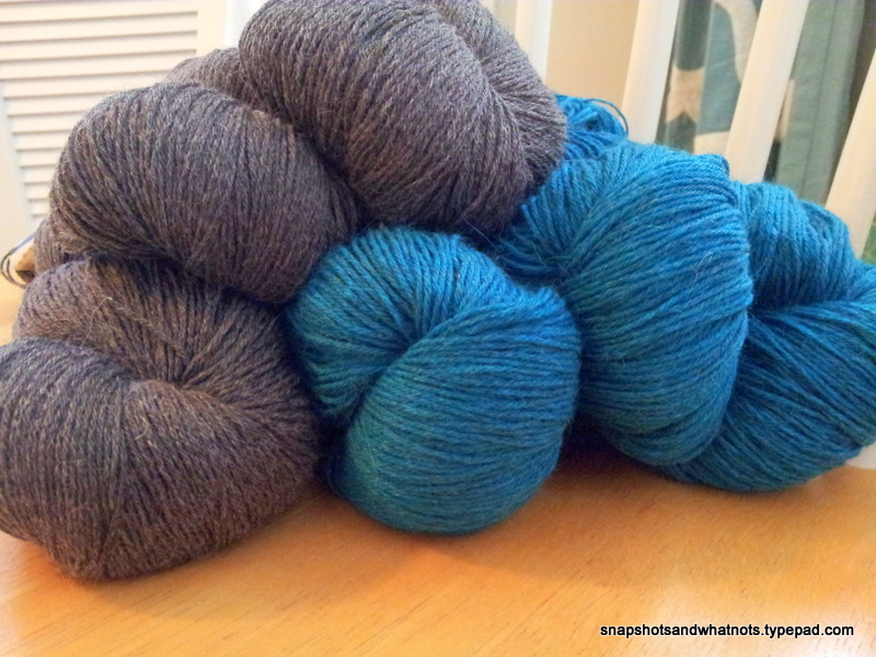 Yarn and supplies for sweater project (3)