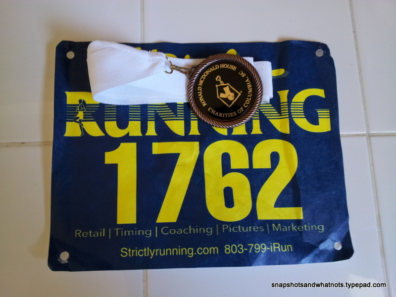 Winning a medal in my first 5k race (3)