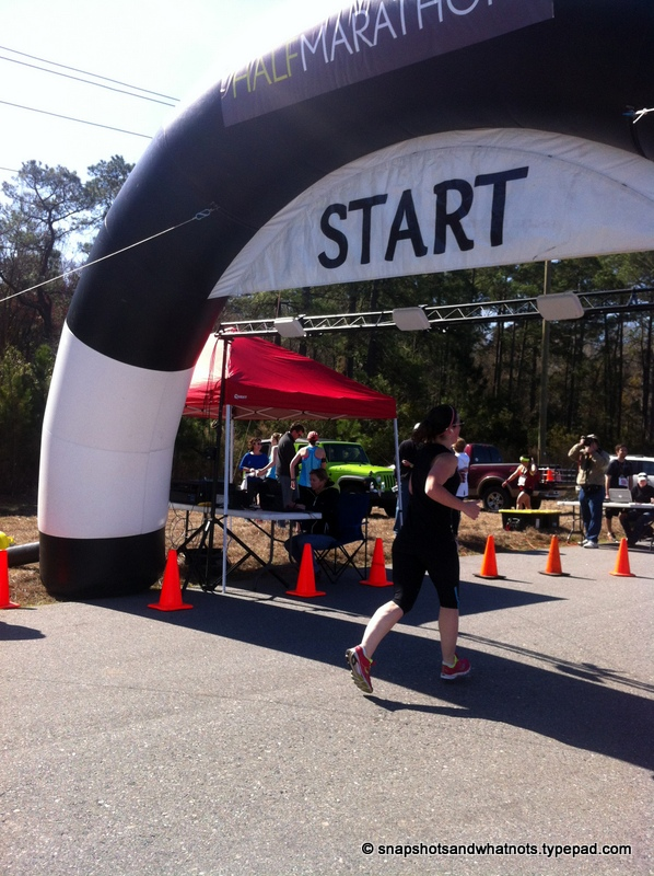 My first half-marathon race experience - Palmetto Bluff SC 2014 (7)