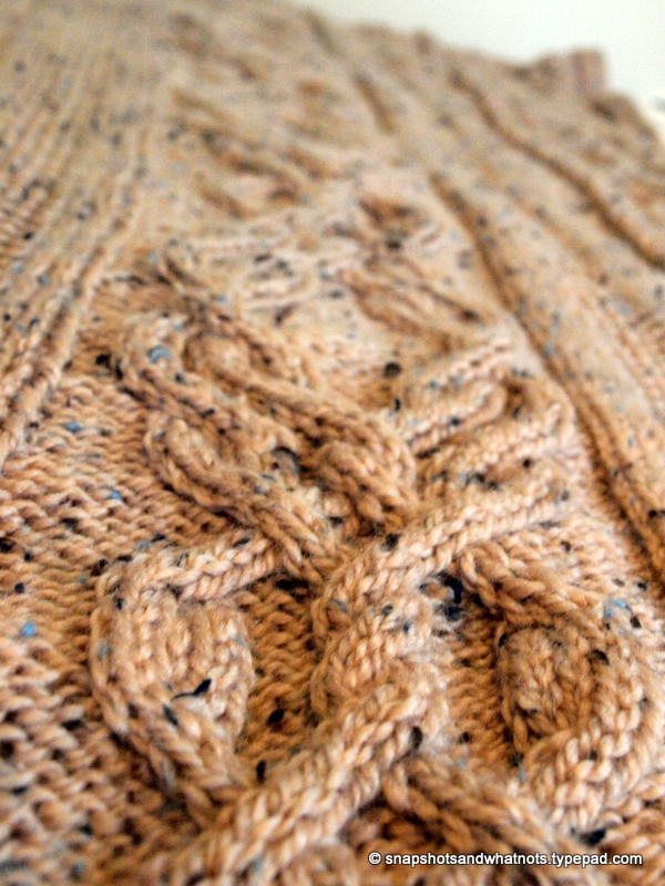 Huge Cable knit blanket -snapshotsandwhatnots (2)