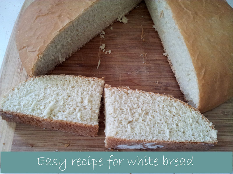 Easy-recipe-for-white-bread