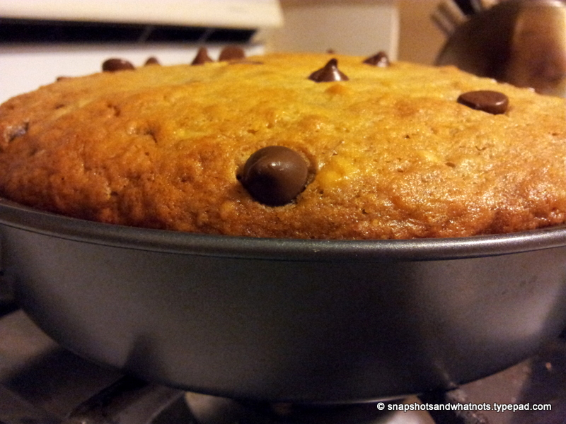 Chocolate Chip Banana Bread Cake (4)