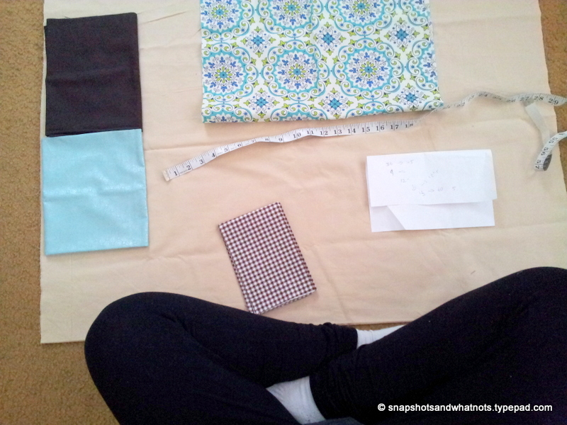 Sewing a quilt - fixing stupid mistakes and basting (1)