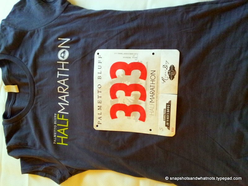 My first half-marathon race experience - Palmetto Bluff SC 2014 (2)