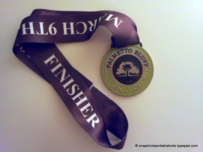 My first half-marathon race experience - Palmetto Bluff SC 2014
