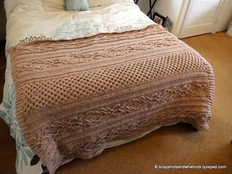 Huge Cable knit blanket -snapshotsandwhatnots (6)