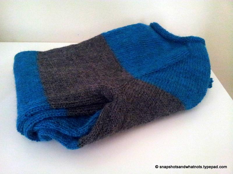 First knitted sweater complete #sskal14 snapshotshotsandwhatnots (6)