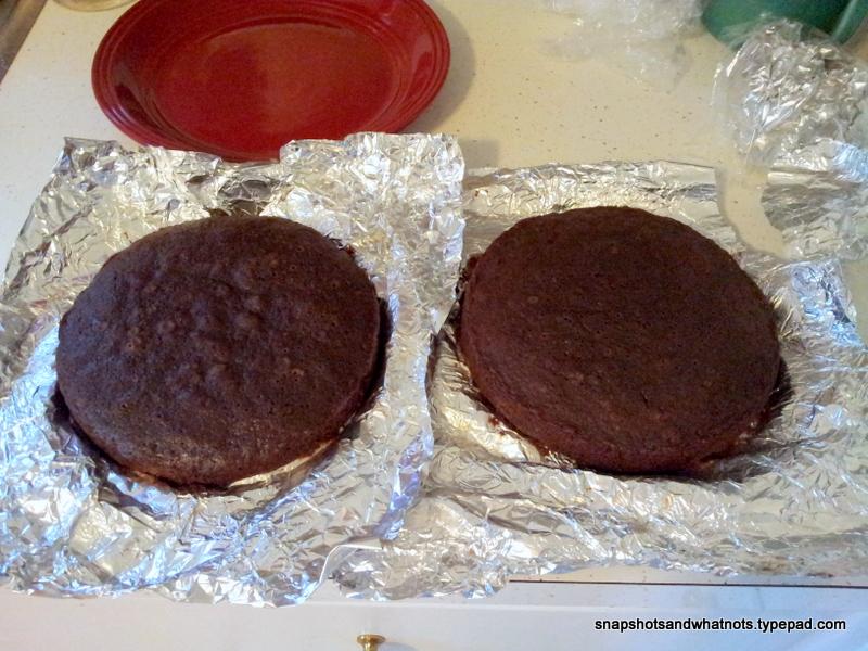 Chocolate cake with dark chocolate ganache - snapshotsandwhatnots (2)