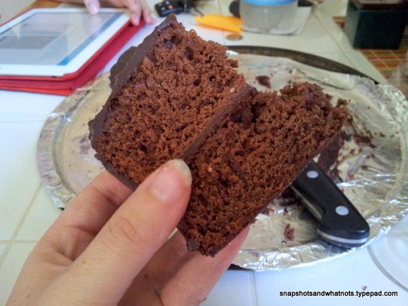 Chocolate cake with dark chocolate ganache - snapshotsandwhatnots (5)