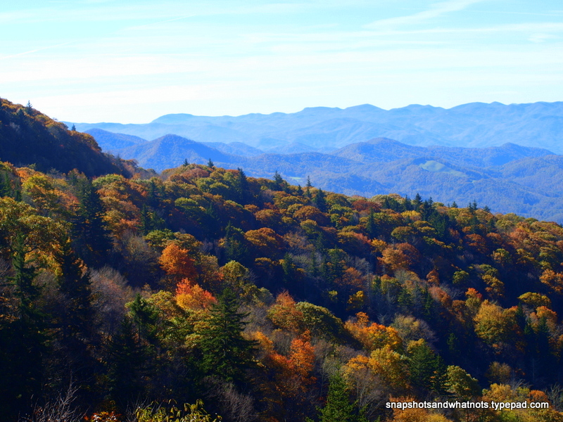 The BlueRidge Parkway near Cherokee NC (2)