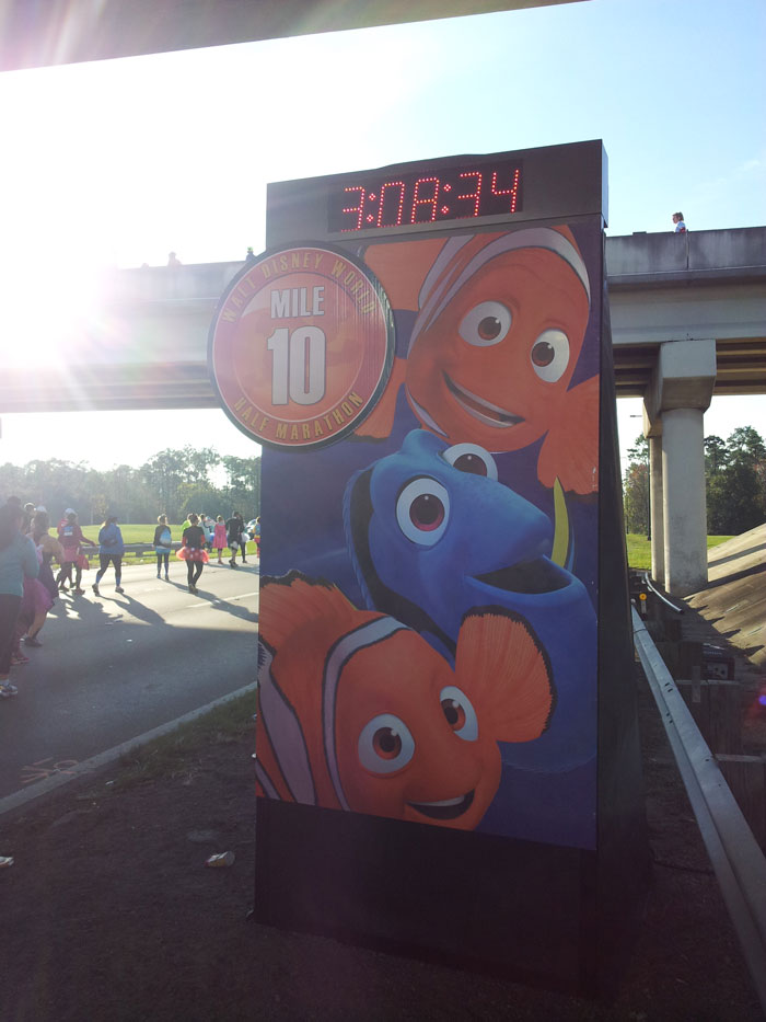 Wdw-half-marathon-mile-markers