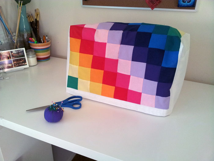 DIY sewing machine cover - project 1 of 15 in 2015 (3)
