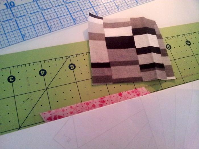 Paper piecing a heart block - a wip (9)