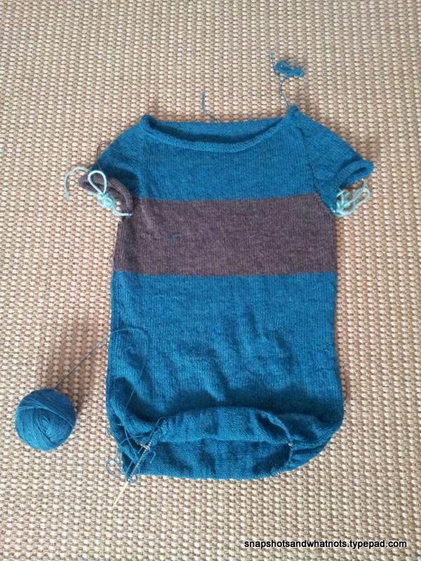 Knitting a sweater  (3)