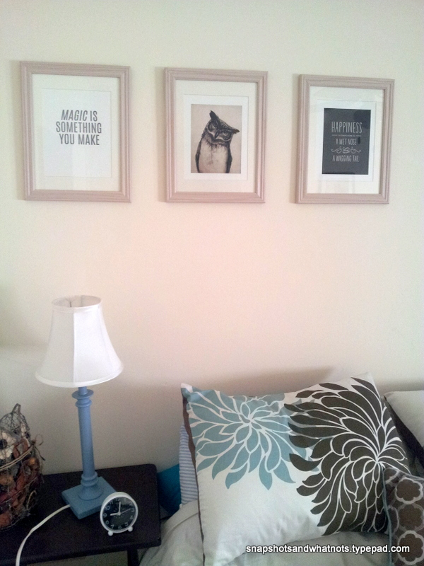 Favourite prints on the wall finally