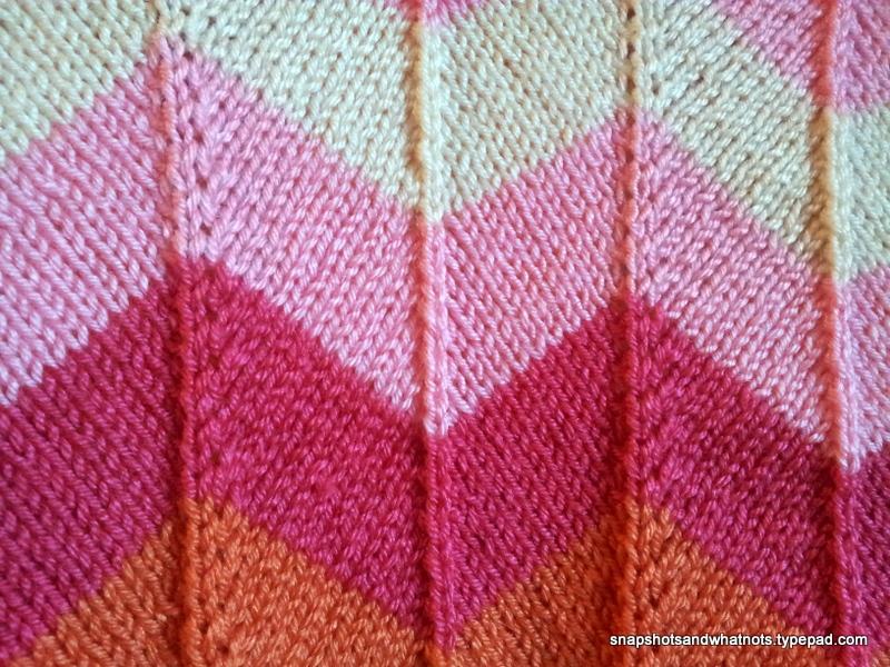 Chevron Baby Blanket Snapshots Whatnots