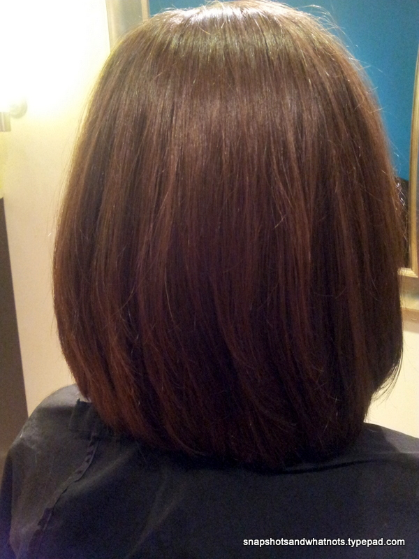 Donating hair - long to bob haircut (3)