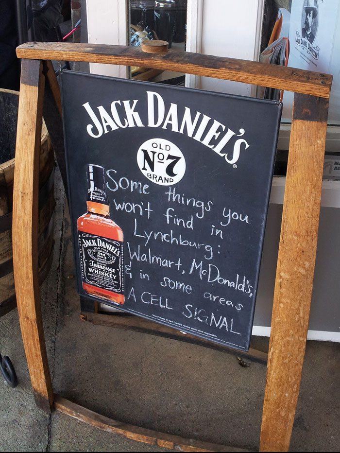 Lynchburg Tennessee - the home of Jack Daniels (1)