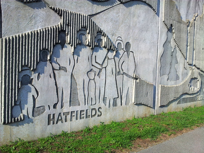 Matewan WV - hatfield and mccoys festival (2)