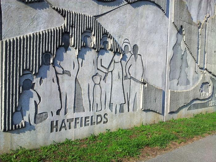 Matewan WV - hatfield and mccoys festival (2)