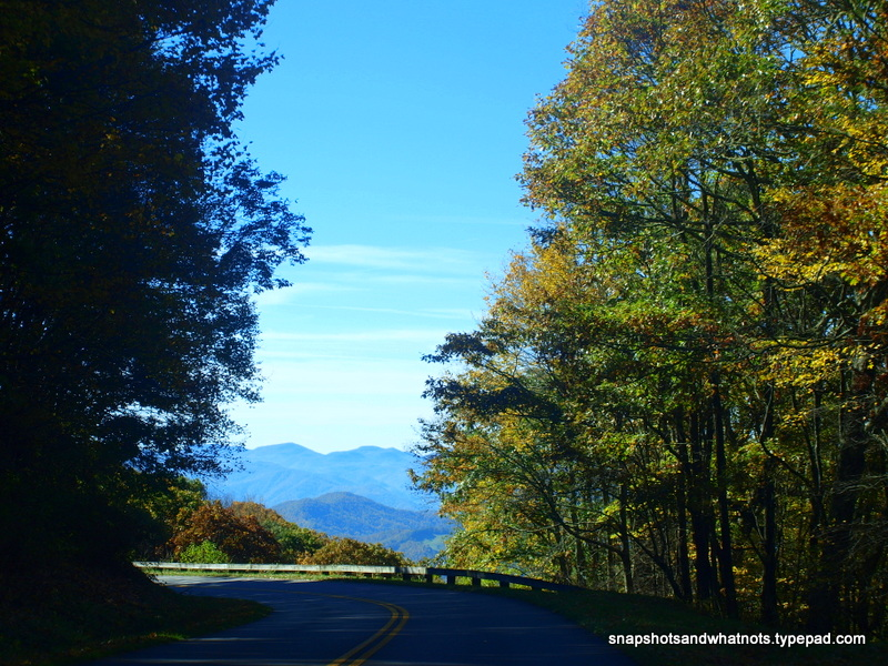 The BlueRidge Parkway near Cherokee NC (3)