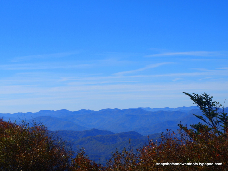 The BlueRidge Parkway near Cherokee NC (1)