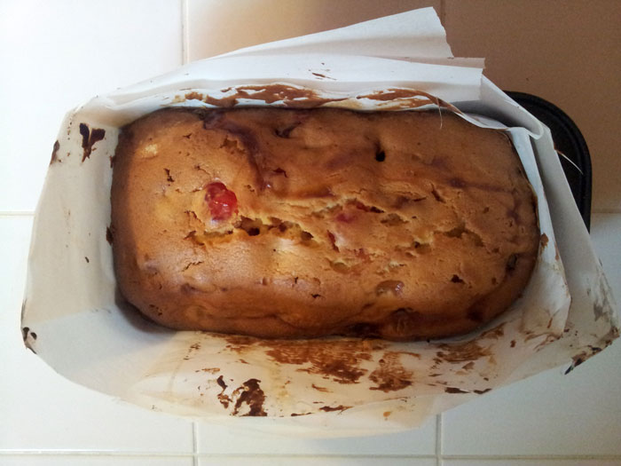 Recipe for Homemade Cherry Cake  (1)
