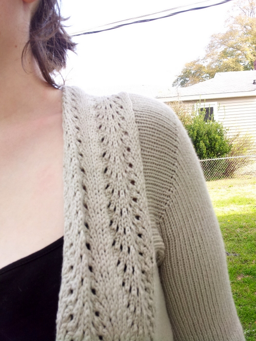 Knitting project 4 of 15 - old town cardigan (4)