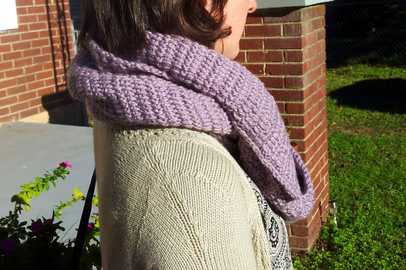 Big cozy fluted cowl (3)